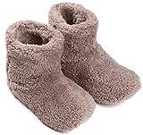 mocca 北欧 ルームシューズ もこもこ 冬 あったか 暖かい メンズ レディース (ベージュ 25cmまで)