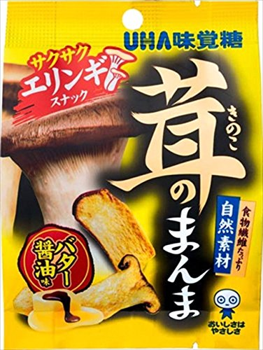 UHA味覚糖 茸のまんま エリンギ バター醤油味 15g×6袋