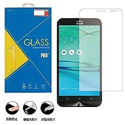 強化ガラスフィルム スクリーンプロテクタ ー 高透明度 ZB551KL