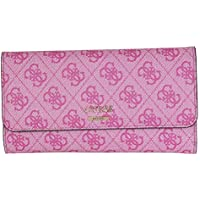 GUESS womens Downtown Cool Multi Clutch Wallet