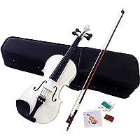 Hallstatt ハルシュタット ヴァイオリン ホワイト V-12/WH 4/4サイズバイオリン (通常サイズ)