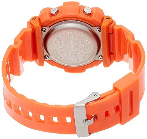『[アリアス]ALIAS 腕時計 電波ソーラー デジタル ウェーブトランス 5気圧防水 ウレタンベルト オレンジ WT13003RCSOL4 メンズ』の1枚目の画像