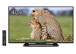 シャープ 40V型 液晶 テレビ AQUOS LC-40W35-B フルハイビジョン 外付HDD対応(裏番組録画) Wi-Fi内蔵 ブラック