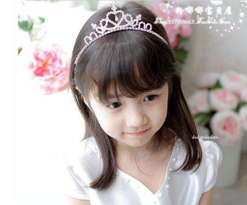 子供衣装 ハート&クロスに輝くダイヤ カチューシャ ティアラ 髪飾り 結婚式 舞台 ドレス かわいい
