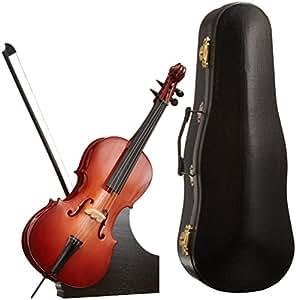 SUNRISE SOUND HOUSE サンライズサウンドハウス ミニチュア楽器 チェロ 23cm