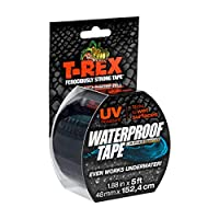 T - Rex防水テープ、UV耐性1.88 in X 5 Ft。