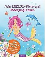 Mein Endlos-Stickerspass Meerjungfrauen