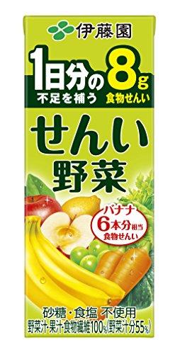 せんい野菜 紙パック 200ml ×24本