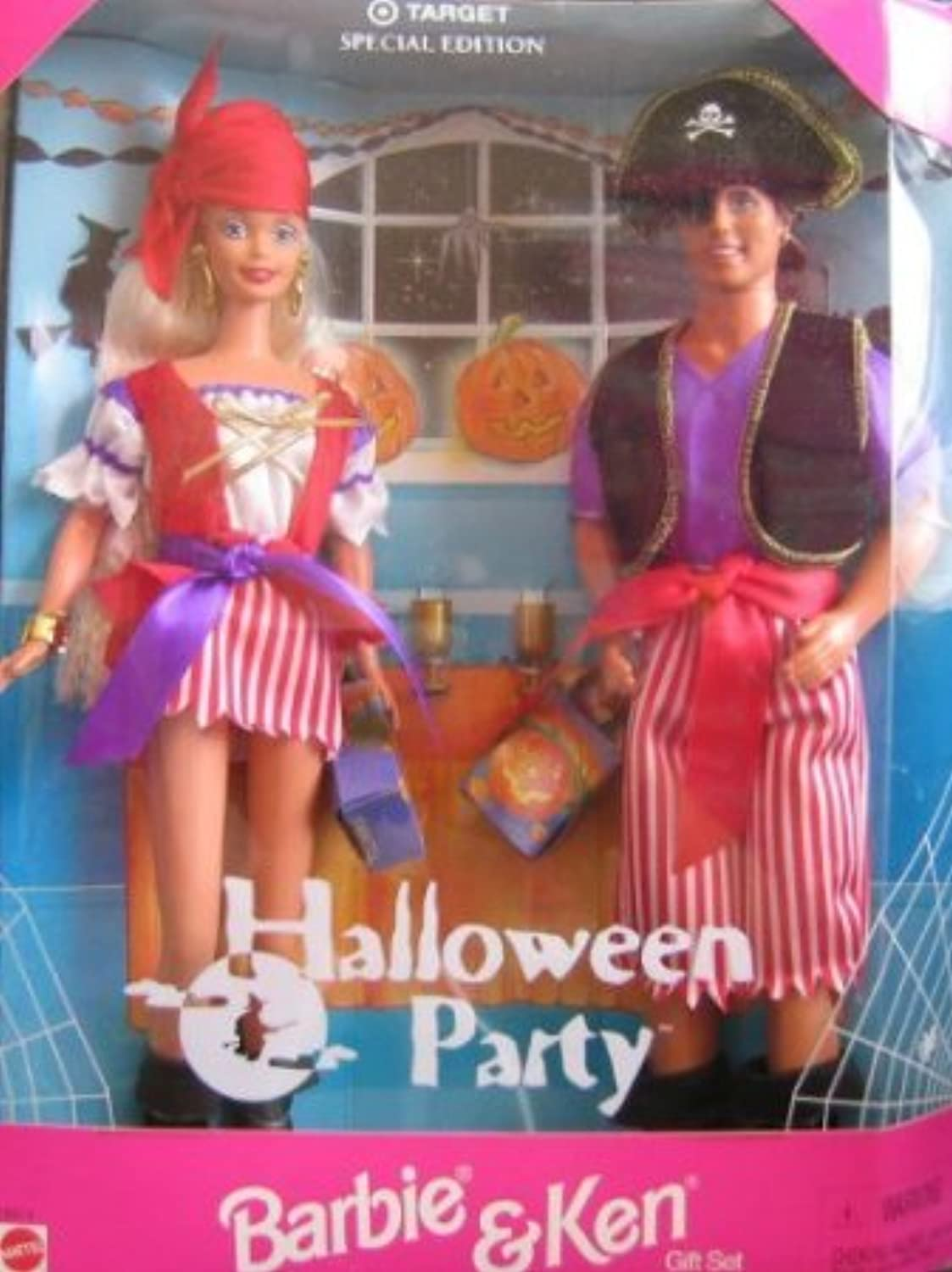 Target Special Edition Halloween Party Barbie(バービー) and Ken ドール 人形 フィギュア(並行輸入)