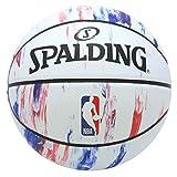 SPALDING(スポルディング) バスケットボール 7号 屋外用 ラバー NBAロゴ マーブル NBA公認 83-934J 83-934J