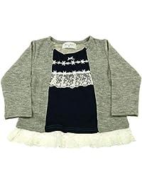 【子供服】 Will Mery (ウィルメリー) ニット風天竺カーデ風Tシャツ 80cm~130cm S66860