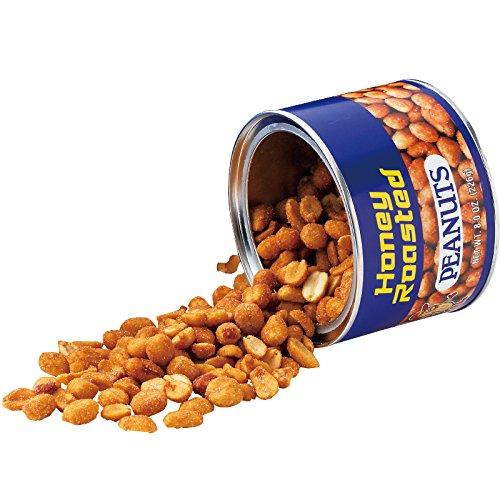 アメリカ 土産 ハニーローストピーナッツ 1缶 (海外旅行 アメリカ お土産)