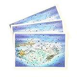 グリーティングライフ クリスマス カード 和風 ミニサンタ 3枚セット 温泉 SJ-18-AM