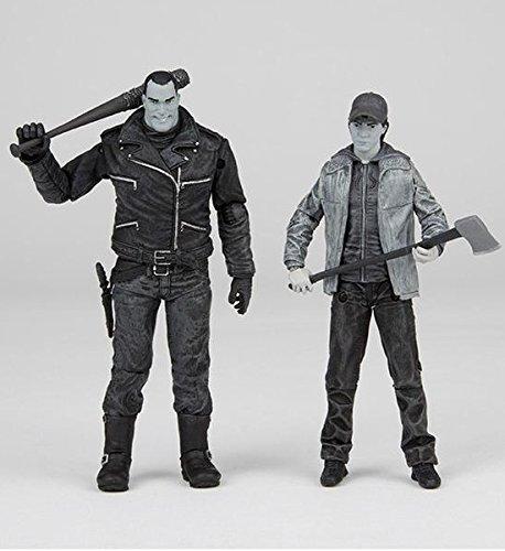 ウォーキング・デッド/ ニーガン&グレン アクションフィギュア 2PK ブラック&ホワイト ver