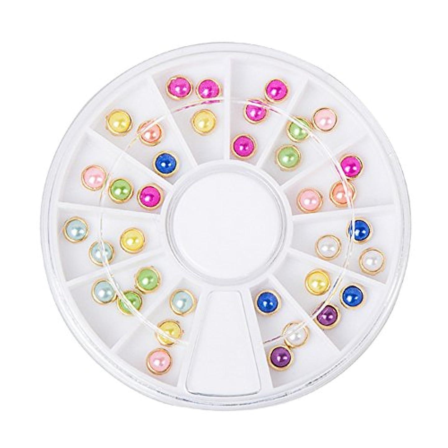 証明する成熟したガチョウジェルネイル ラインストーン アートパーツ パール ハート ダイヤモンド 22種類選択可