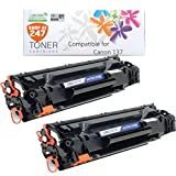 Compatible Canon 137, 9435B001AA Black Monochrome Laser Toner Cartridge replacement for Multifunction imageCLASS MF212w, MF216n, MF227dw, MF229dw printer SHOP AT 247 テつョ by SHOP AT 247
