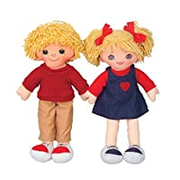 Dexter Toys Cuddly Doll - Caucasian Girl