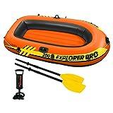 INTEX(インテックス) ボート エクスプローラー プロ 200SET 196×102×33cm 58357 オール・ポンプ付属 [日本正規品]