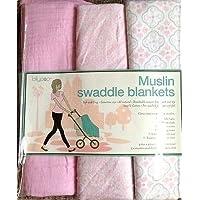 Pink Lollypop Muslin Swaddle Blankets by Lollypop