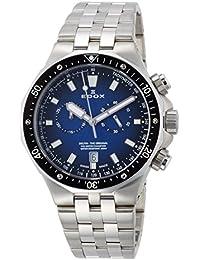 [エドックス]EDOX 腕時計 デルフィン  クォーツクロノグラフ 10109-3M-BUIN メンズ 【正規輸入品】
