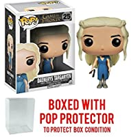 Funko POP 。Game of Thrones – Mhysa Daenerys Targaryen Vinyl Figure (バンドルwith Popボックスプロテクターケース)
