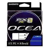 シマノ(SHIMANO) PEライン オシア EX8 300m 3号 60.0lb マルチカラー PL-078L