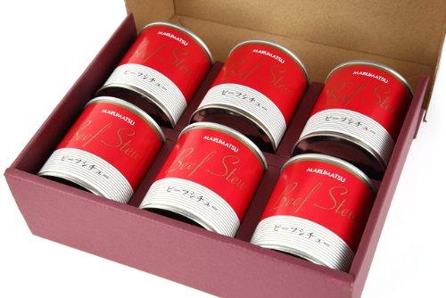 丸松物産 ビーフシチュー6缶セット