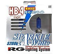 レーシング ギア ( RACING GEAR ) ハロゲンバルブ 【スパークル ホワイト 5200K】 HB4 2個入り GB4K