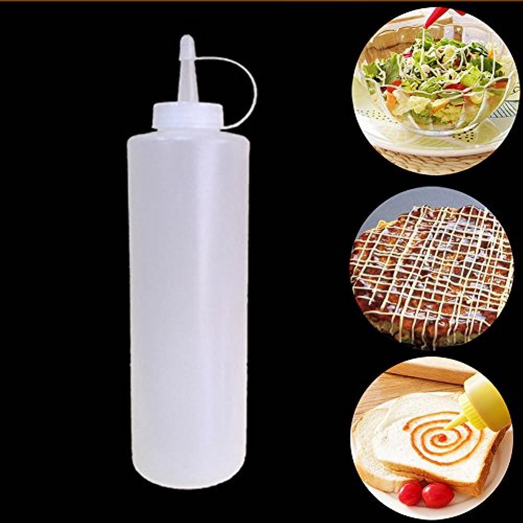 瞑想的上回る北etbotuプラスチックSqueeze調味料入れボトルwithスケール、100 %食品グレード素材 specification:8oz KY-HOME-A-040818-013