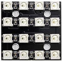 waves LED NeoPixel WS2812B 16LED 5V PCB モジュール Arduino