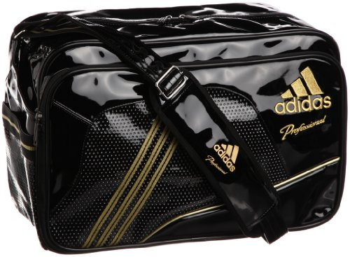[アディダス] adidas adidas ProfessionalエナメルショルダーM2 DO299 Z53770 (ブラック/メタリックゴールド)