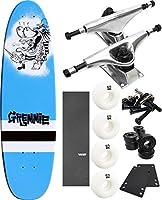 "GremmieスケートボードPistolaクルーザースケートボード8"" x 27"" Complete Skateboard–7項目のバンドル"