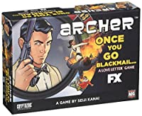 ラブレター (Love Letter: Archer: Once You Go Blackmail - Boxed Edition) カードゲーム