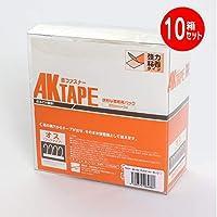 マジックテープ アラコー 面ファスナー AKテープ粘着付 50mm幅X5m 5箱セット 白 オス AK-09 (10個セット)