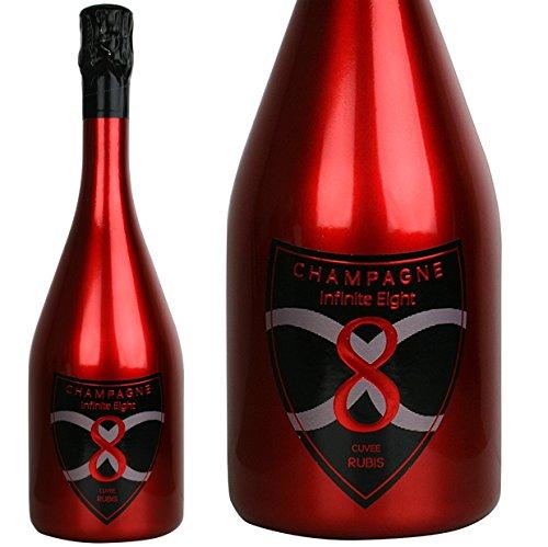 インフィニット エイト キュベ ルビー NV 正規品 シャンパン やや甘口 白 750ml