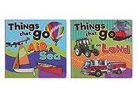 """セットの2"""" My First """" Board Books for Kids : Things That Go Air & Sea and Things That Go On Land。ペーパークラフト"""