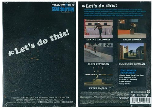 "Transworld Skateboard #19-""Let's Do This!- [DVD]"