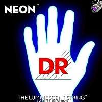 【1セット】DR DR-NWE10[10-46] NEON WHITE エレキギター弦