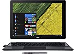 Acer SW512-52-55YD Switch 5 12.0 QHD Touch 2-in-1 Laptop/Tablet 7th Gen Intel Core i5-7200U 8GB LPDDR3 256GB SSD Active Stylus Black [並行輸入品]