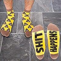 Poo Emoji Sh#t Happens Socks