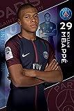 Paris Saint Germain F.C. Poster Mbappe 19 / パリ サンジェルマン F.C. ポスター エムバペ 19