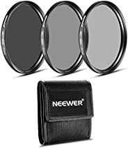 Neewer® 77MM ND Filter Set (ND2 ND4 ND8) for The Canon EF 24-105mm f/4 L is USM Zoom Lens, The Nikon 28-300mm