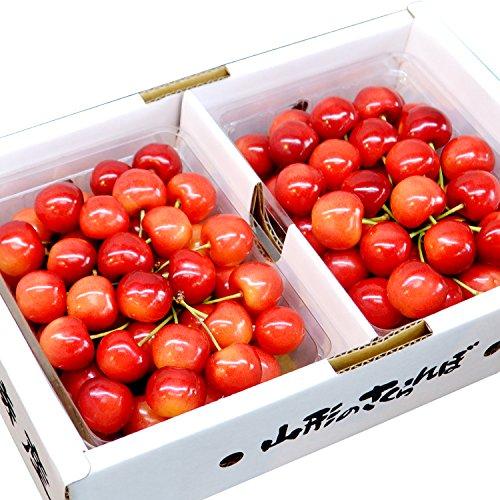 山形県産 秀品 2L玉 さくらんぼ紅秀峰 1kg 500g×2入 ギフトBOX