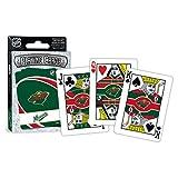 (Minnesota Wild) - MasterPieces Nhl Minnesota Wild Playing Cards