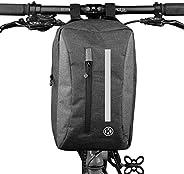 Ecool Bicycle Bag, Handle Bag, Front Bag, Shoulder Bag, Cycle Bag, Handbag, Large Capacity, Road Bike