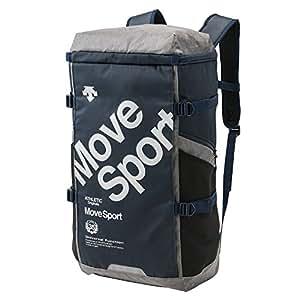 DESCENTE(デサント)スクエアバックパック L リュックサック デイパック スポーツバッグ 大容量40L DMALJA05 NV F