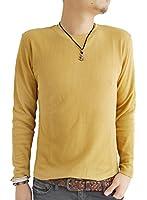 (アーケード) ARCADE 8color メンズ サーマルロンT ロングTシャツ ワッフル