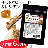 【X2個セット】【大容量】熟生ナットウキナーゼ&レシチン