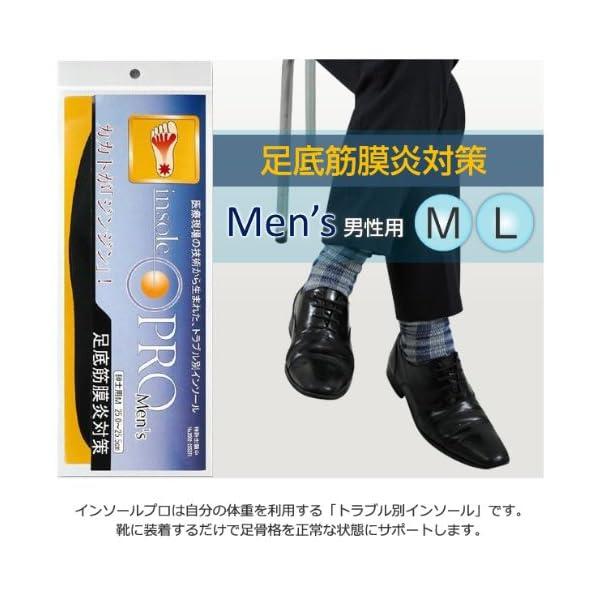 インソールプロ 足底筋膜炎対策 レディスの紹介画像10