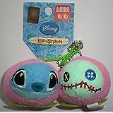 リロ&スティッチ ストラップ 山梨限定 もも 桃 マスコット ディズニー Disney